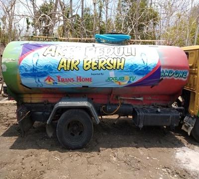 Bantuan Air Bersih untuk Gunung Kidul